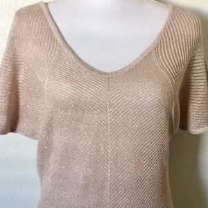 Shimmery knit top